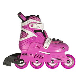 Seba Junior Pink/White