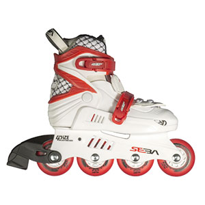 Seba Junior White/Red