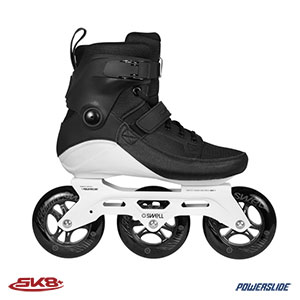 Powerslide Swell Skates Black 110